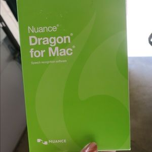 Other - Nuance Dragon Dictate Software for Mac. New in box